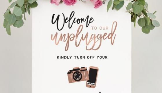 Matrimonio unplugged o social?